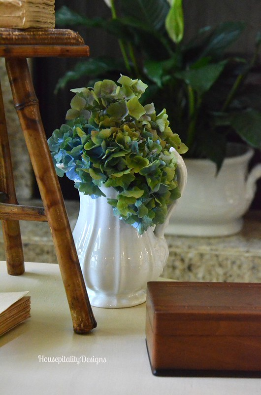 Summer Vignette/Hydrangeas - Housepitality Designs