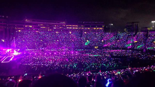 Coldplay Rose Bowl