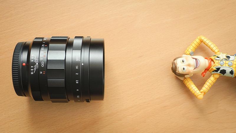 42.5mm f/0.95 | Voigtlander NOKTON