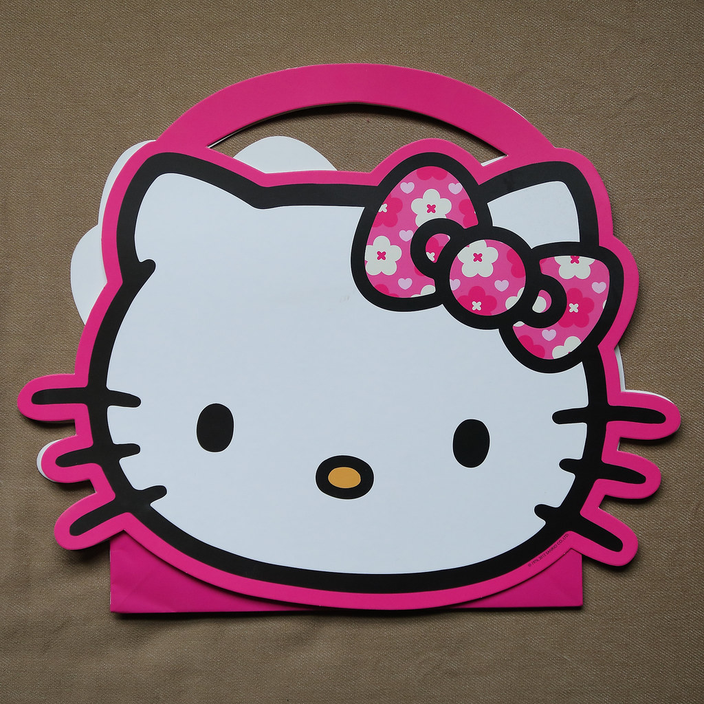 a3419e63d80 Large Hello Kitty die cut Gift Bag by Next   (1150)   Jay Tilston ...