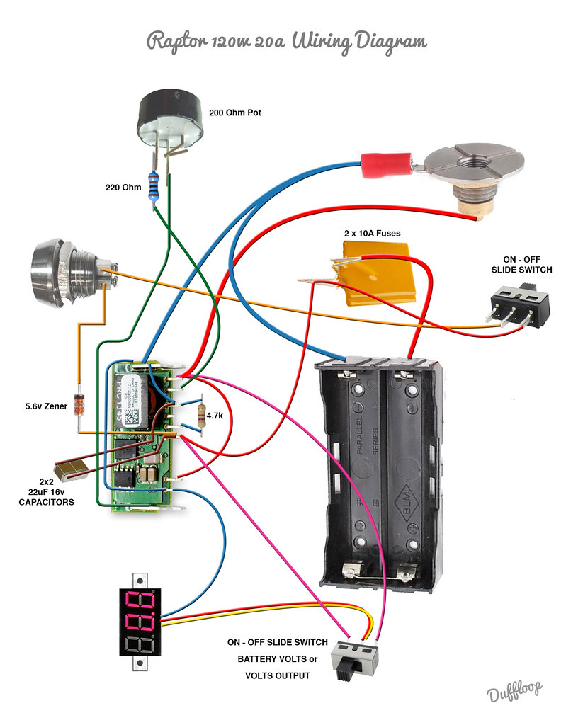 raptor 120w 20a wiring diagram duffloop duffloop flickr
