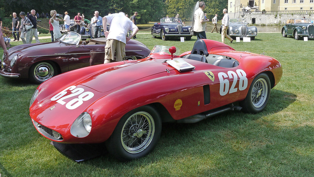 Ferrari 500 Mondial Spyder Series Ii By Scaglietti 1955
