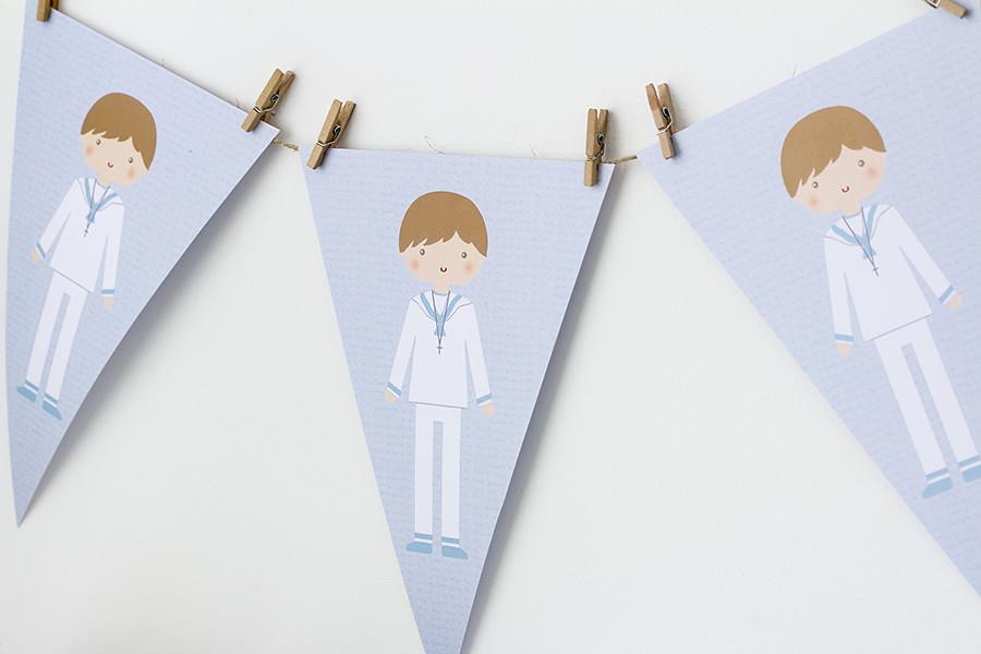 Kit de fiesta comunión niño