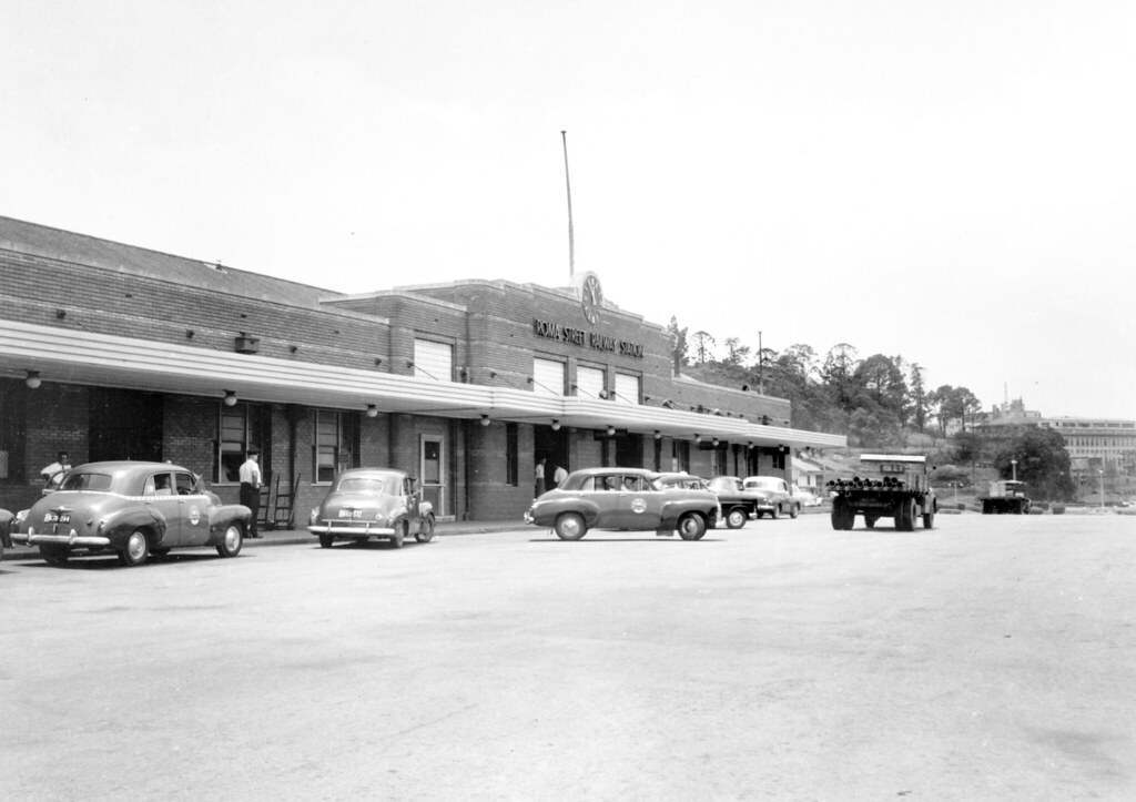 roma street station 1957 on 30 november 1940 the. Black Bedroom Furniture Sets. Home Design Ideas