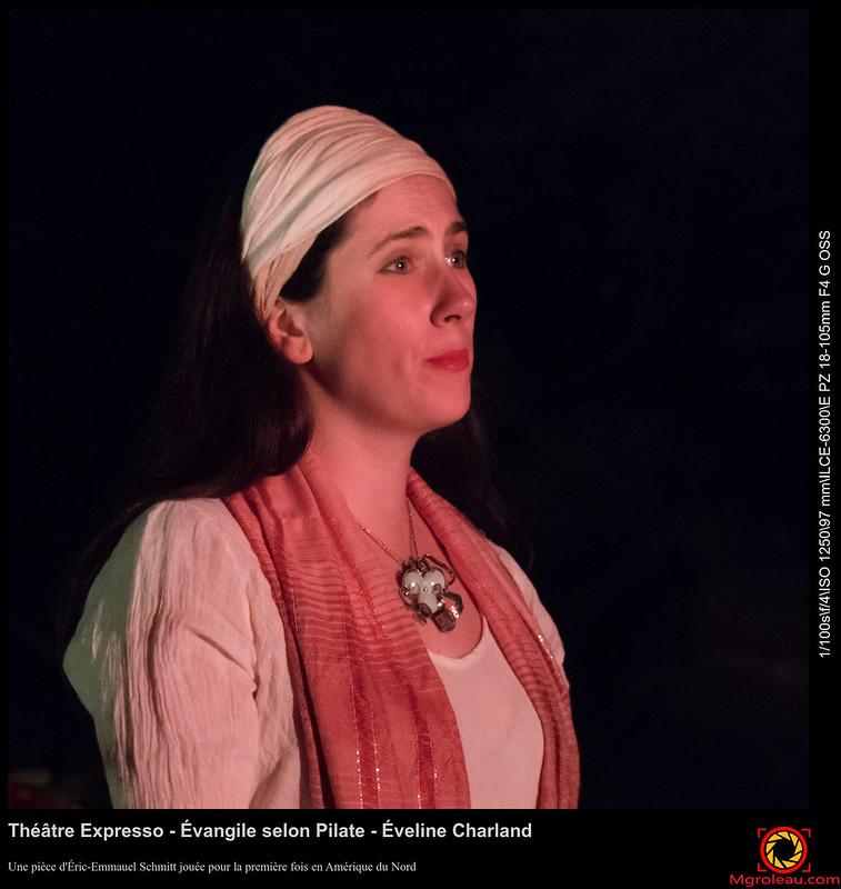 Théâtre Expresso - Évangile selon Pilate - Éveline Charland