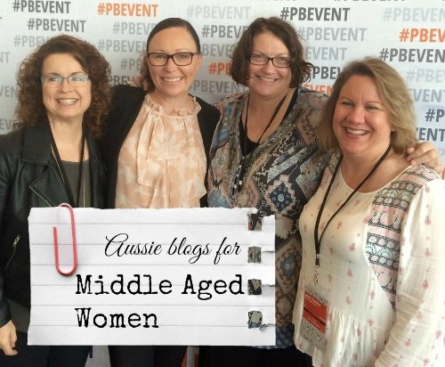 Aussie blogs for middle aged women
