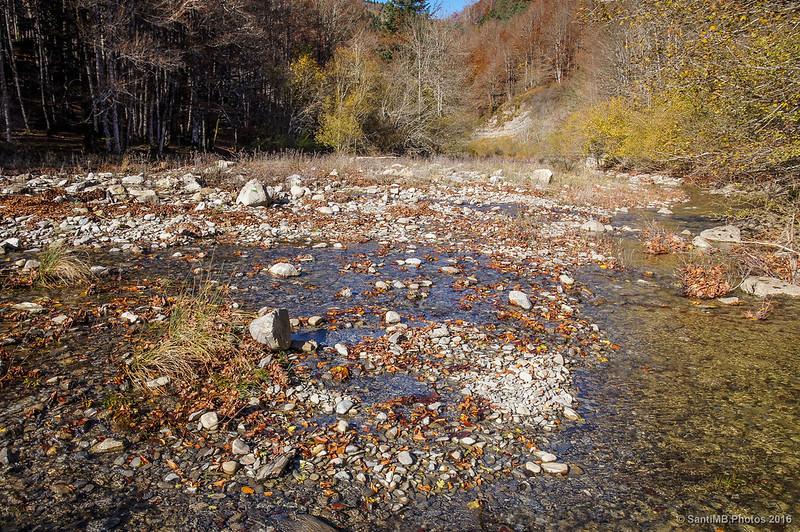 Primer cruce del río Urtxuria