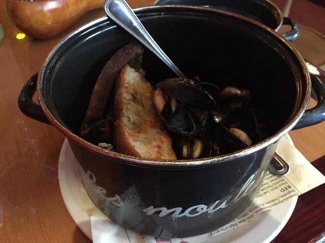 Moules frites - Aquitane