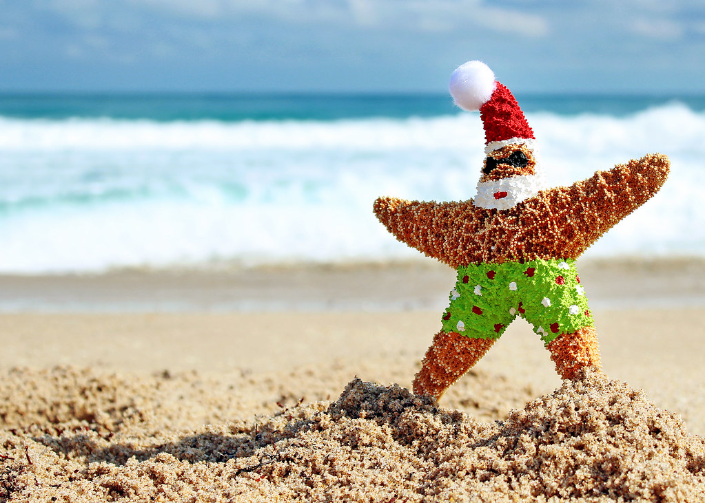 christmas at the beach by flowerchild_jlr - Christmas At The Beach