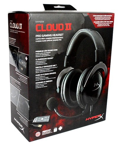 Audífonos Kingston HyperX Cloud II