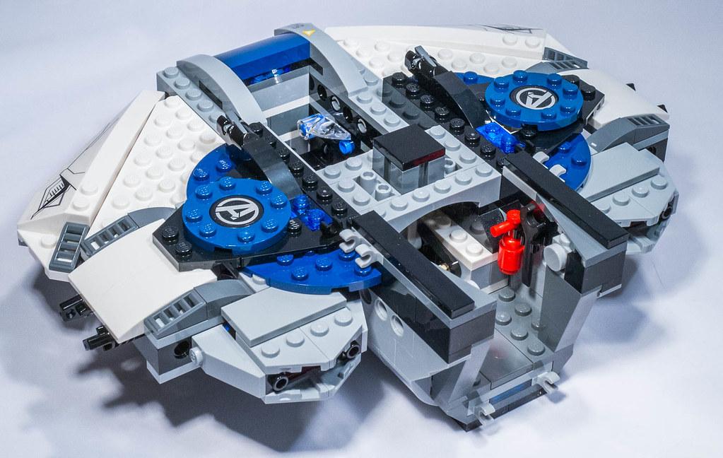 Lego 76032 - The Avengers Quinjet City Chase | Lego 76032 Ma ...