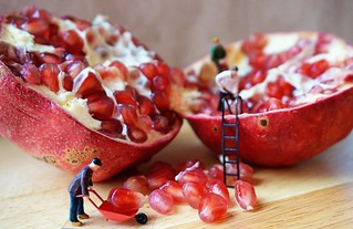 How to seed a pomegranate | by katerha