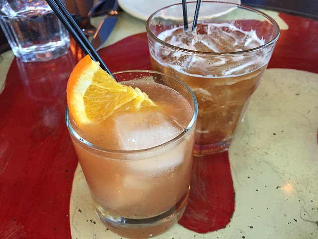 Old Fashioned and Manhattan cocktails - Farina