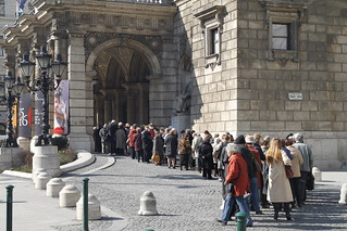 Queue for the opera | by driek