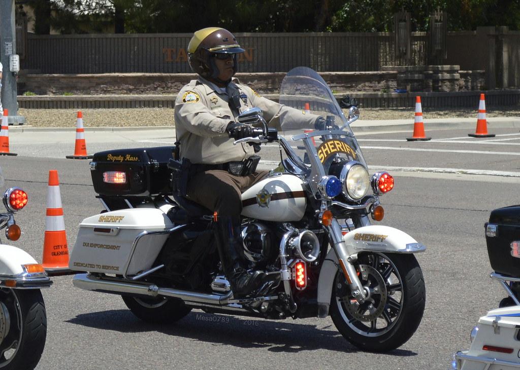 Yuma County Arizona Sheriff- Harley Davidson Motorcycle | Flickr