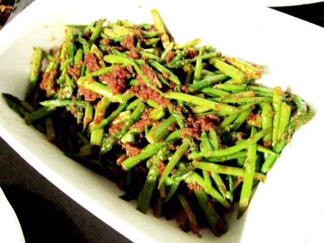 Sambal asparagus