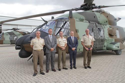 Recepción de los dos primeros helicópteros HT-29 Caimán (3)