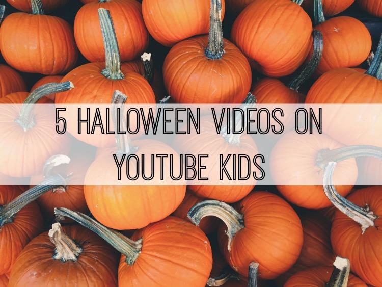 5 Halloween videos on youtube