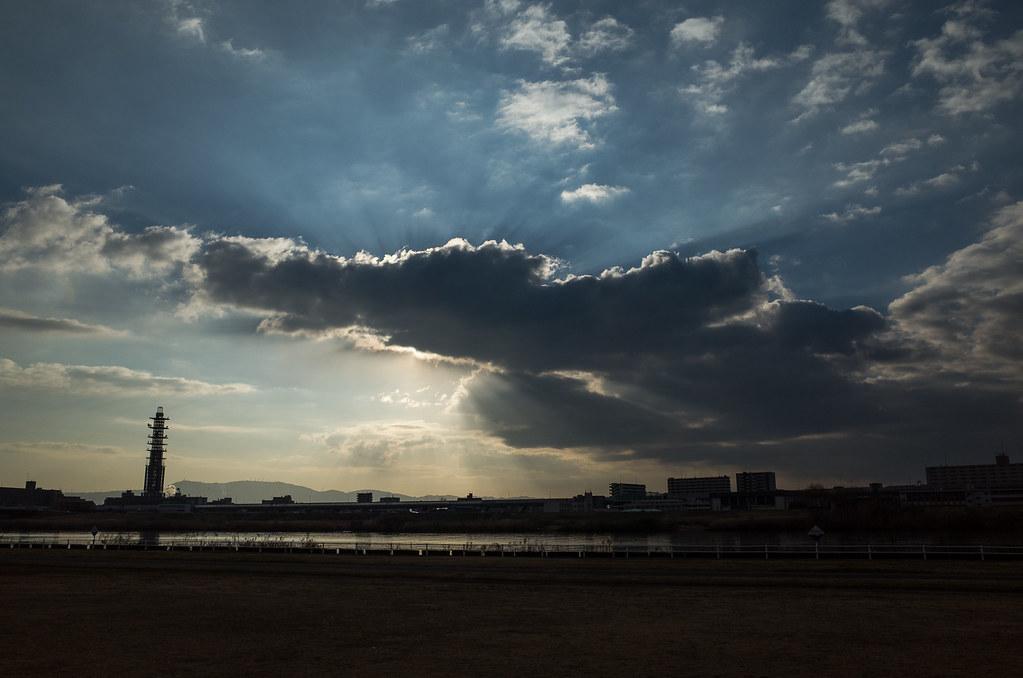 Angel's Ladder (Yodo River,Osaka) | Flickr - Photo Sharing!