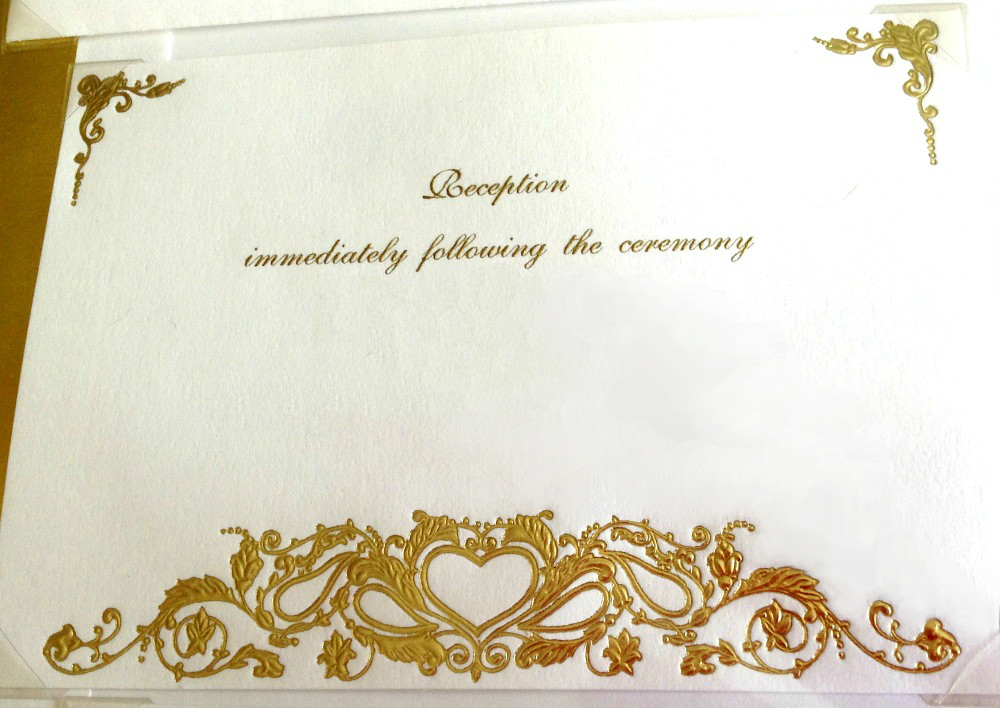 Reception card design inspiration for quilled