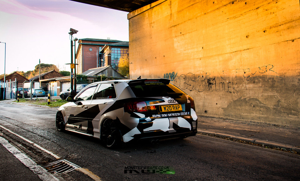 Audi A3 Camo Design Air Suspension Camo Design And A