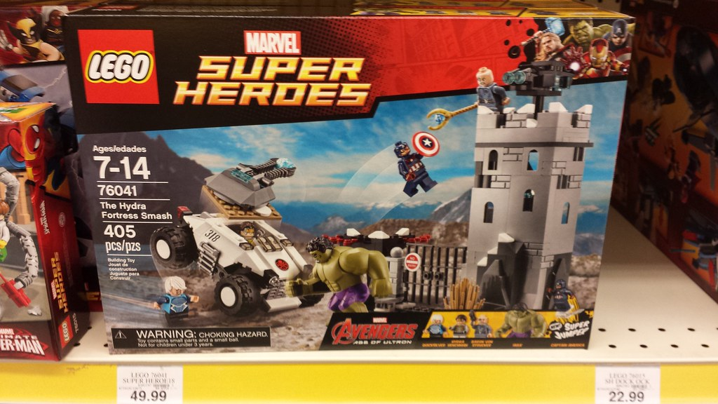 LEGO Marvel Super Heroes Avengers: Age of Ultron | Read more… | Flickr