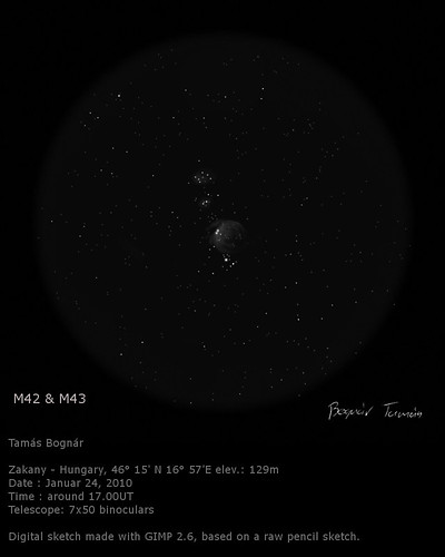 VCSE - Messier 42 - Bognár Tamás
