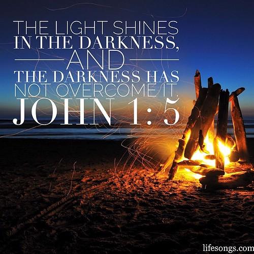 John 1:5 #Bible #BibleVerse #inspirational #quotes #motiva ...