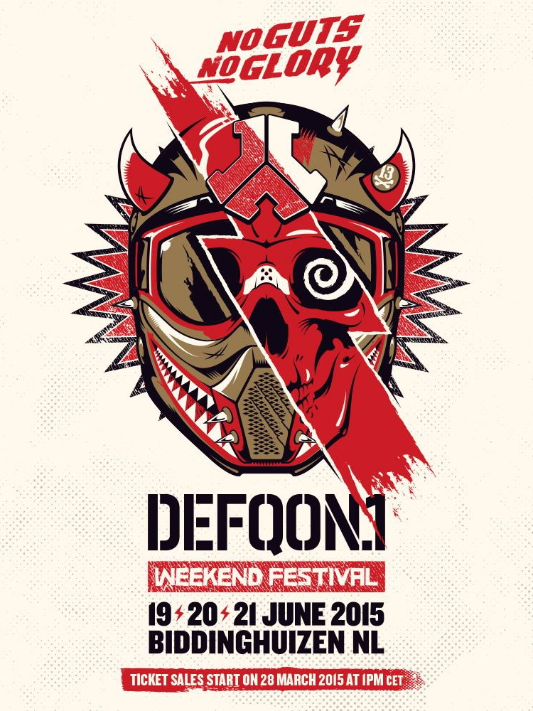 cyberfactory 2015 defqon 1 weekend warriors biddinghuizen nederland