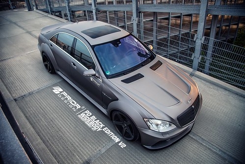 Prior Design Mercedes W221 S Class Wide Body Black Edition ...