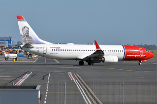 Norwegian (Minna Canth livery), LN-NIF, Boeing 737-8JP | by Anna Zvereva