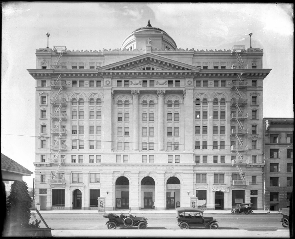 Exterior View Of Trinity Auditorium Building 9th Street A