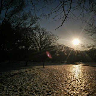 The ice fields of Prospect Park | by manual.Aperture.focus