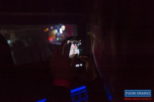 13/03/2015 Le luci della centrale elettrica al Fuori Orario