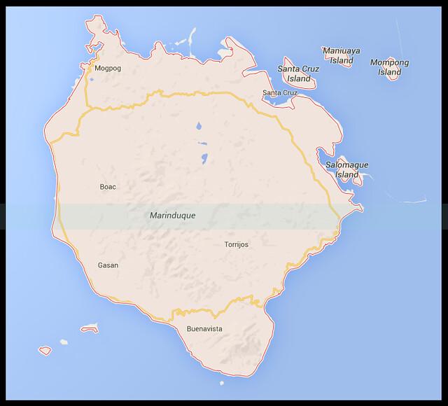 Map of Marinduque