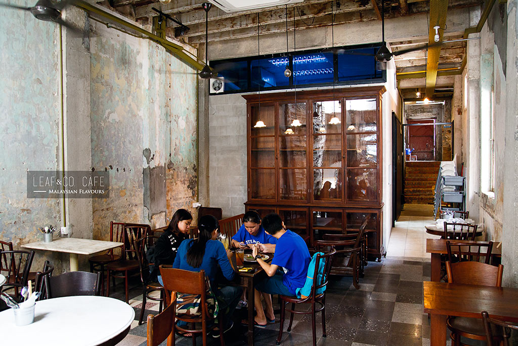 Leaf & co Cafe Mingle Chinatown KL