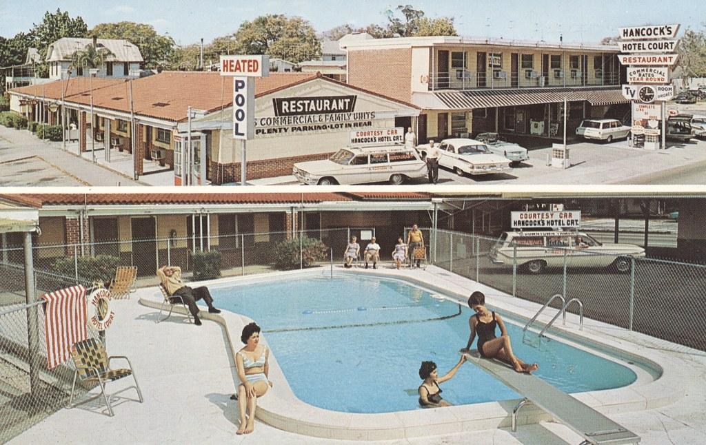 Hancock's Hotel Court & Restaurant - Tampa, Florida
