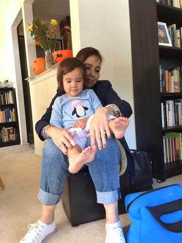Nana Visits- October 2016