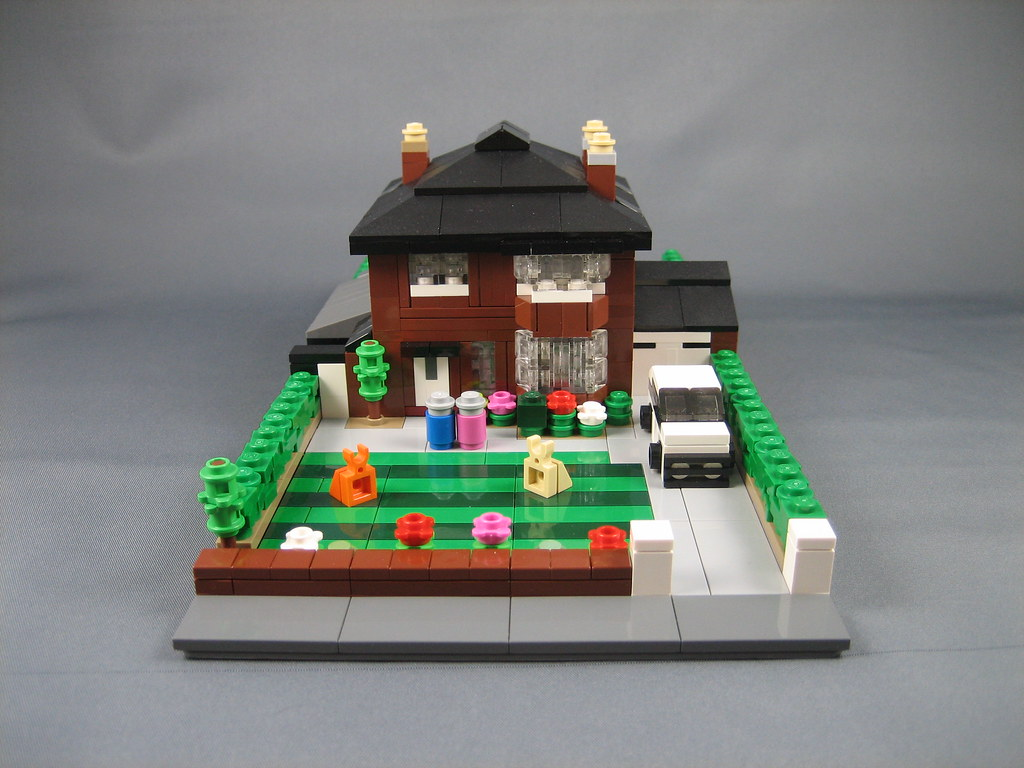 Mini Lego Detached House This Is My Grandad 39 S House