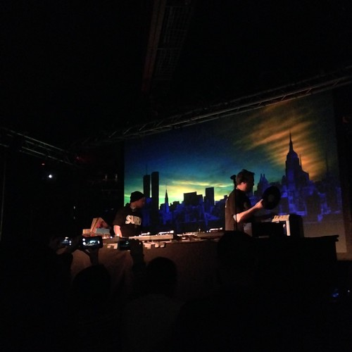 DJ Shadow & Cut Chemist at den Atelier