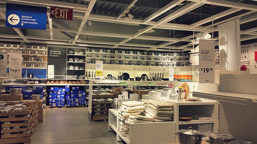Ikea Marketplace A 175 000 Square Foot Super Kmart Store