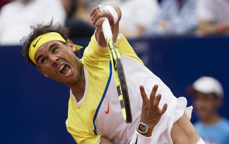 西班牙「紅土王子」Rafael Nadal將於今晚挑戰第11座巴塞隆納公開賽冠軍。(達志影像資料照)