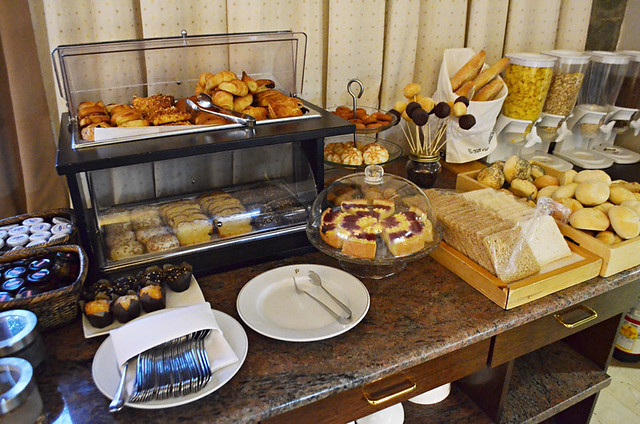 Doughnuts on sticks, Hotel Buffet, Parador, Tenerife