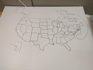 Franken's Map