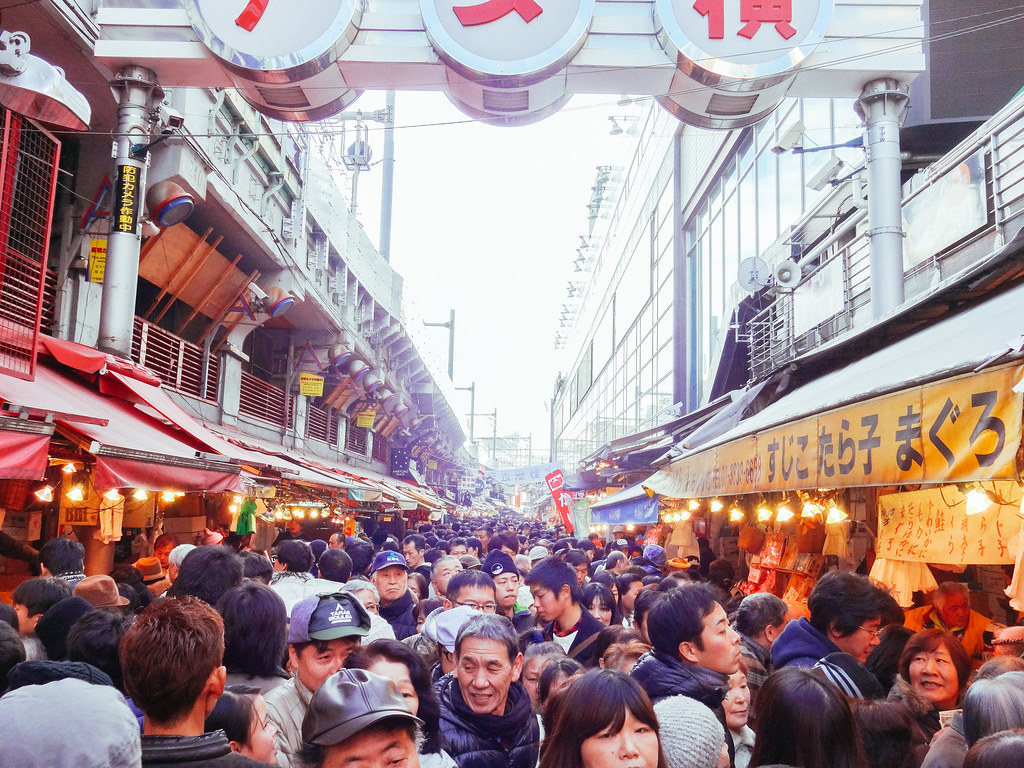 Year End Sale In Ameya Yokocho Shopping Street アメヤ横丁 年末