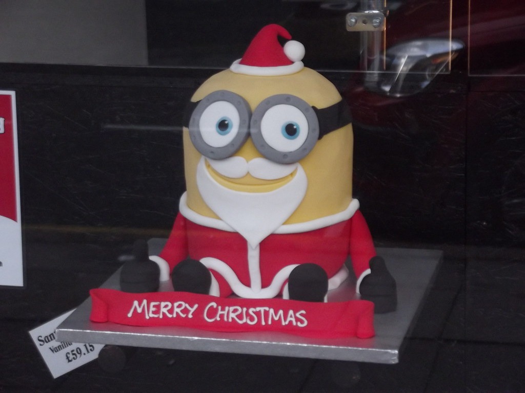 Minion Cake And Cupcake Ideas