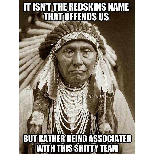 Washington redskins suck