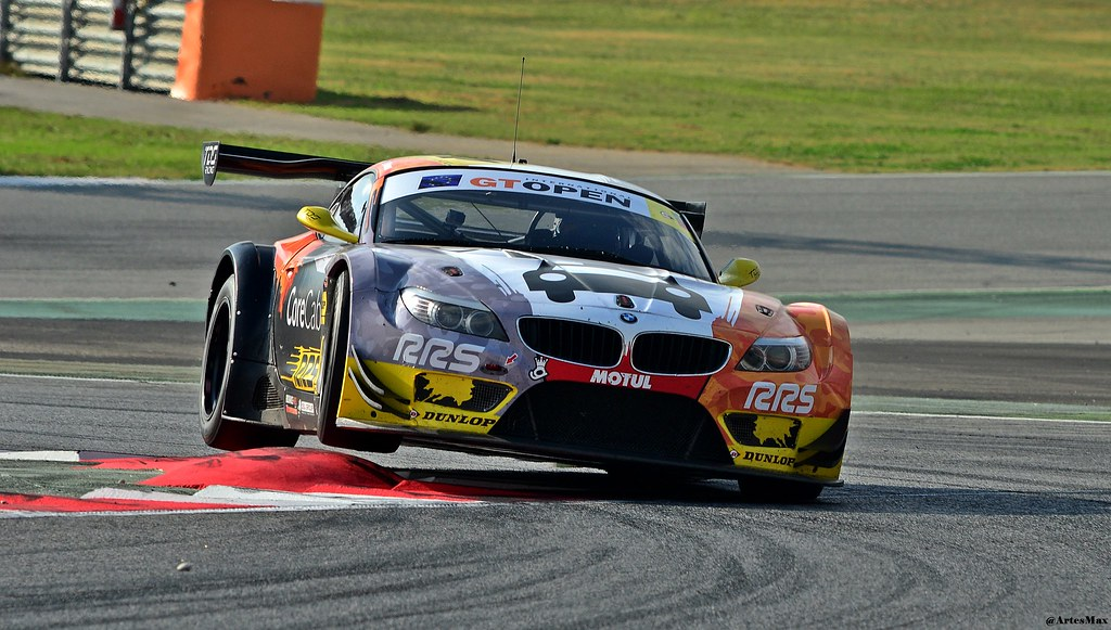 Bmw Z4 Gt3 Tds Racing Fra International Gt Open 2014