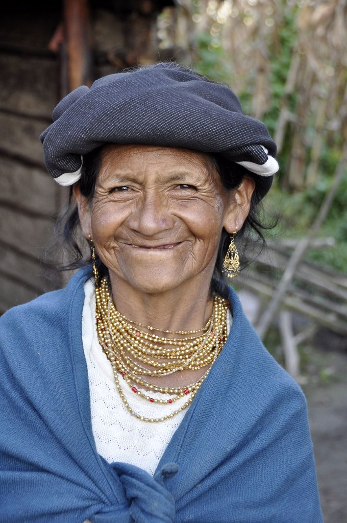 Women in the Ecuadorian Andes