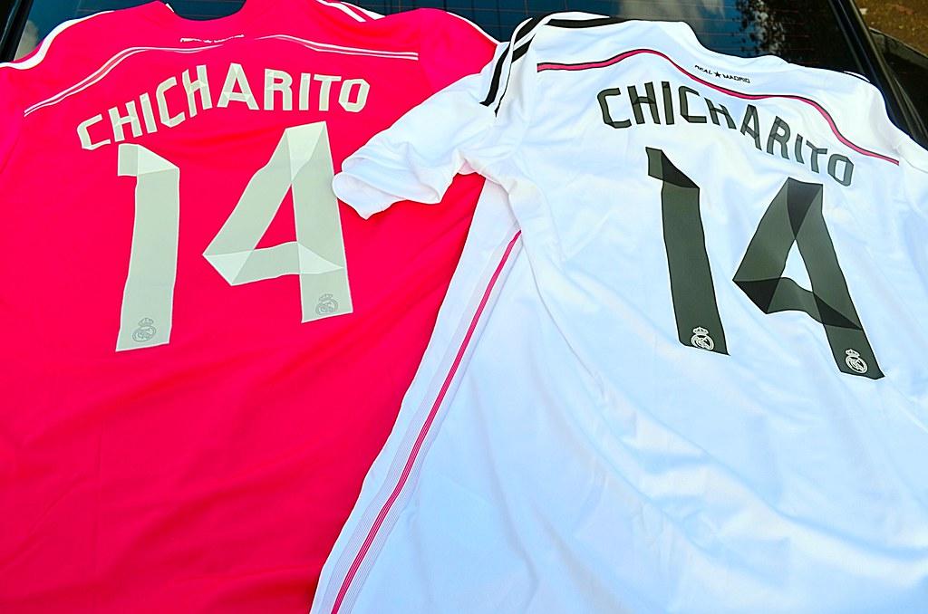 separation shoes db874 ed7ae 2014-2015 Adidas Real Madrid Chicharito Kits | New pick Ups ...
